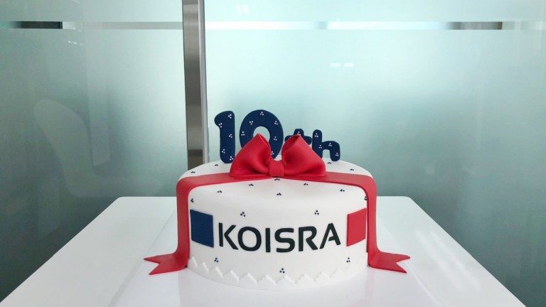 KOISRA-Cake-Celebrating-10-Years-of-Service