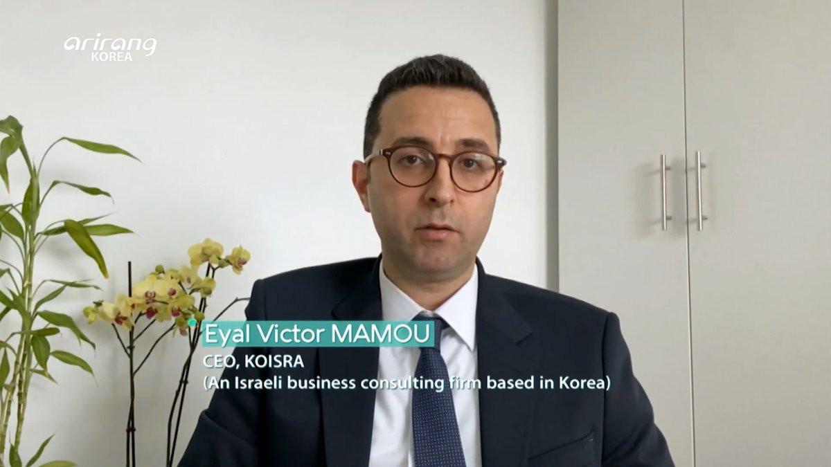 Eyal-Victor-Mamou-Arirang-TV-Diplomat-Talks-KOISRA